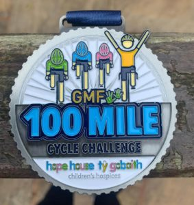 GM Fundraising announces GMF100 Cycling Challenge total